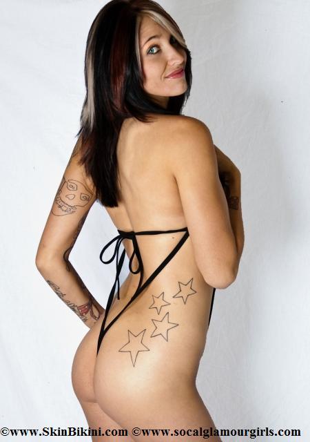 BY-0901 Crotchless See-Thru Sexy Monokini Bikini
