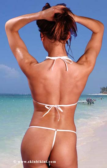 white see through micro bikini by skinbikini.com - back