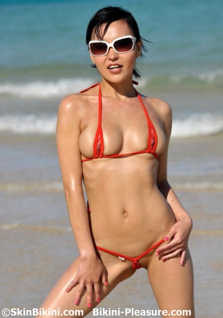 bikini skin Clear