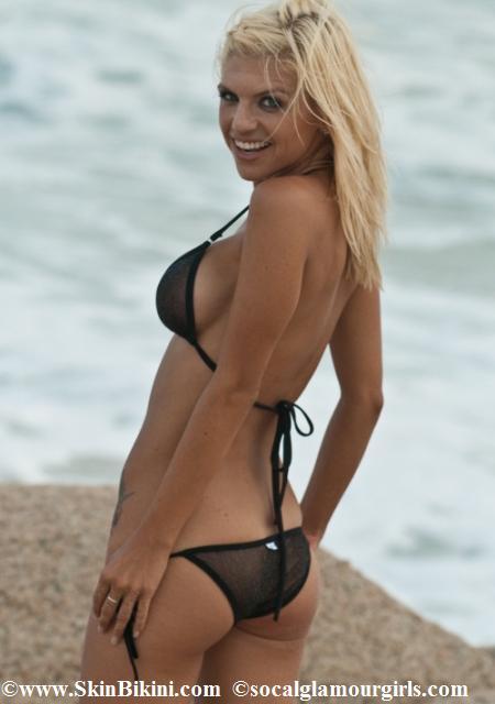 Brazilian see thru bikini