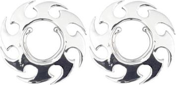 NR-010 Saw Blade clip-on NON-PIERCING Nipple Rings