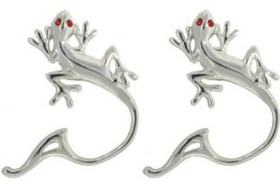 NR-009 Gecko Design NON-PIERCING Nipple Rings