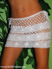 C-71031 - Hand Crochet Bikini Cover-ups Floral Wide Bands